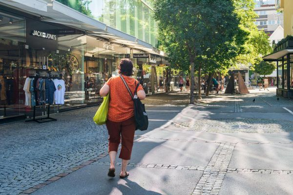 Experten glauben, dass sich die Innenstädte wandeln werden.Symbolbild/Stiplovsek