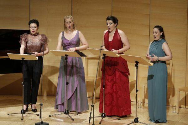 Frauenstimmen beim Konzert am Dienstag. Schubertiade