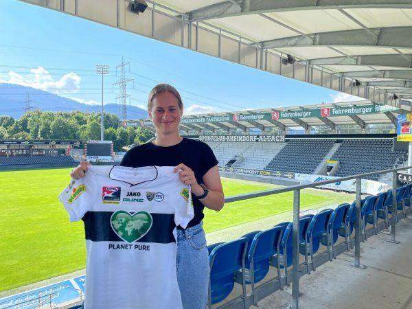 Fußballerin Tatjana Baliceva. verein