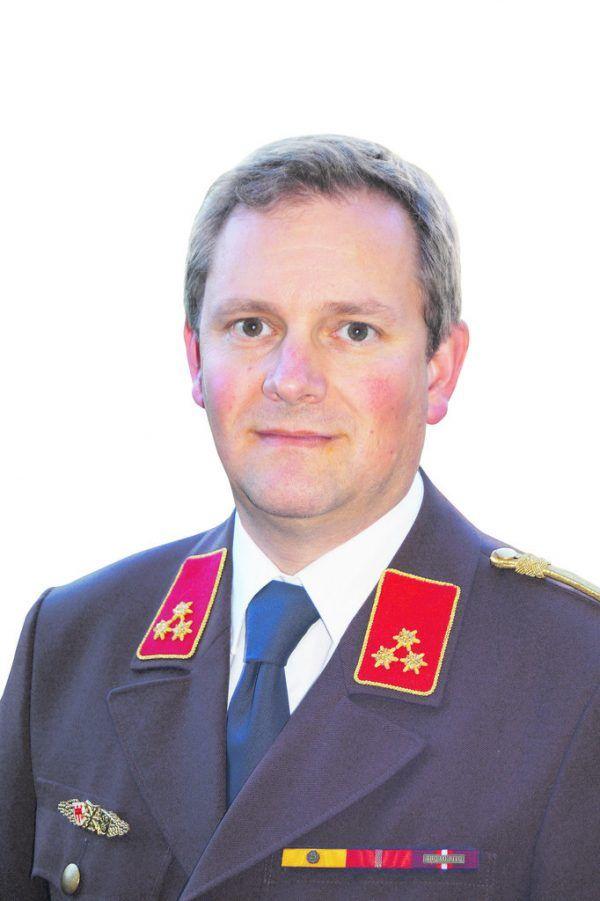 Gerold Hämmerle ist Landesfeuerwehrarzt und Kommandant in Dornbirn.LFV Voralberg