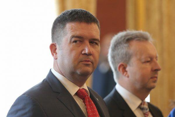 Innenminister Hamacek. AFp