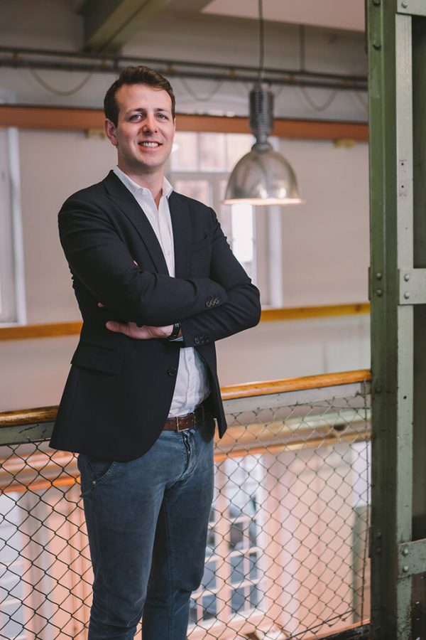 JWV-Vorstandsmitglied Maximilian Lehner.JWV/Chris Gaethke