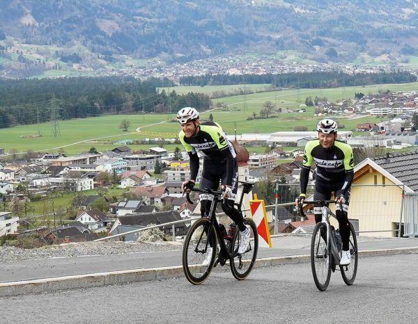 Marco Jordan und Thomas Kofler stellen sich dem Extremrennen Race Around Austria. Team Vorarlberg