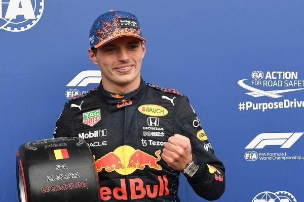 Max Verstappen wird das Rennen aus der ersten Position in Angriff nehmen. apa