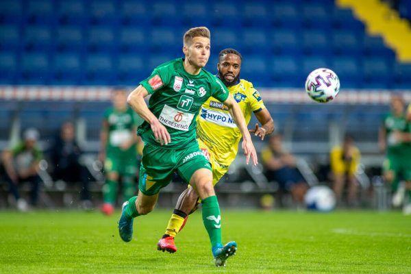 Nach der WSG Tirol ist der FC Dornbirn die zweite Profistation in Österreich für Sebastian Santin (vorne).gepa