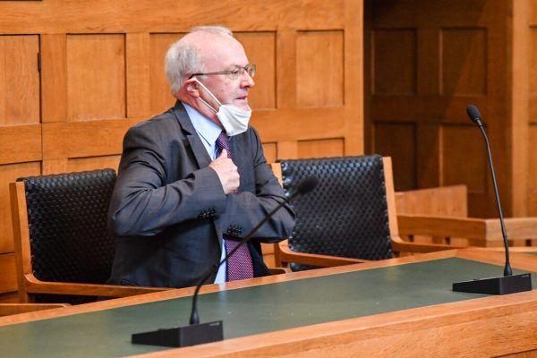 Richter Dietmar Nußbaumer sprach die Angeklagten frei.Oliver Lerch (3)