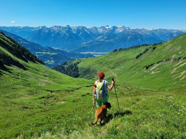 Viel zu sehen und zu erleben gibt es auf der Wanderung auf die Gerenspitze im Großen Walsertal.Hertha Glück (5)
