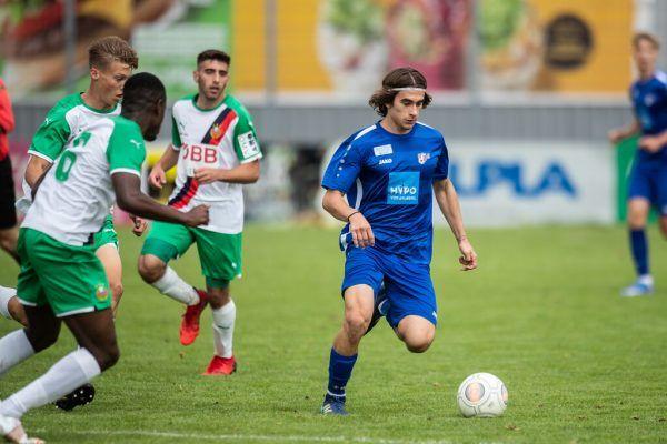 Vorarlbergs AKA U18 feierte mit dem Sieg gegen Rapid einen gelungenen Einstand in die neue Saison. Frederick Sams