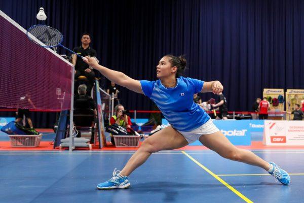 Zwei Medaillen gab es für Serena Au Yeong. gepa