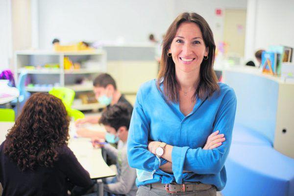 Als ehemalige Volksschullehr-erin weiß Koordinatorin Rebecca Branner, worauf es bei einem guten Lernklima ankommt.Hartinger (9)