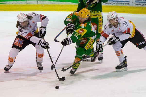 Als einziges Team aus Vorarlberg nimmt der EHC Lustenau den Saisonauftakt in der AHL Zuhause in Angriff.steurer