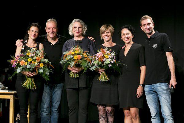 Anna Gross, Stefan Vögel, Maria Neuschmid, Sabine Allgäuer, Katja Jochum und Michael Mathis (v.l.).Mathis (2) / Franz Lutz (5)