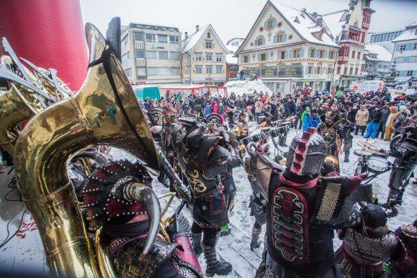 Auf dem Dornbirner Marktplatz wird es wohl kein Monsterkonzert geben. Archiv/Steurer, Emser Palast Tätscher