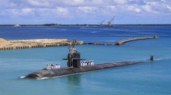 Australien kauft atomgetriebene U-Boote aus den USA. AP