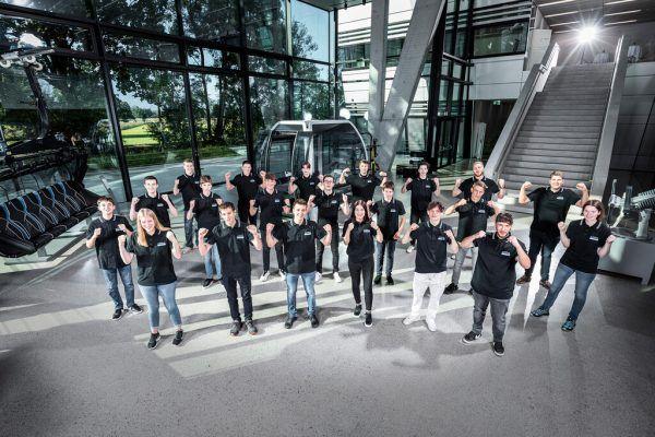 Bei Doppelmayr, dem Weltmarktführer im Seilbahnbau, beginnen heuer 21 neue Lehrlinge.Doppelmayr