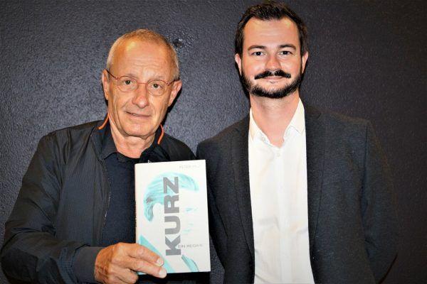 Buchautor Peter Pilz mit NEUE-Redakteur und Moderator Moritz Moser. (v.l.).Ritter (7)