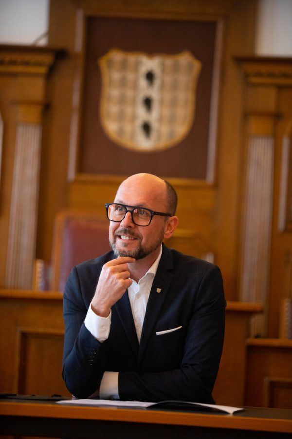 Bürgermeister Ritsch hofft auf breite Zustimmung.Hartinger (2)
