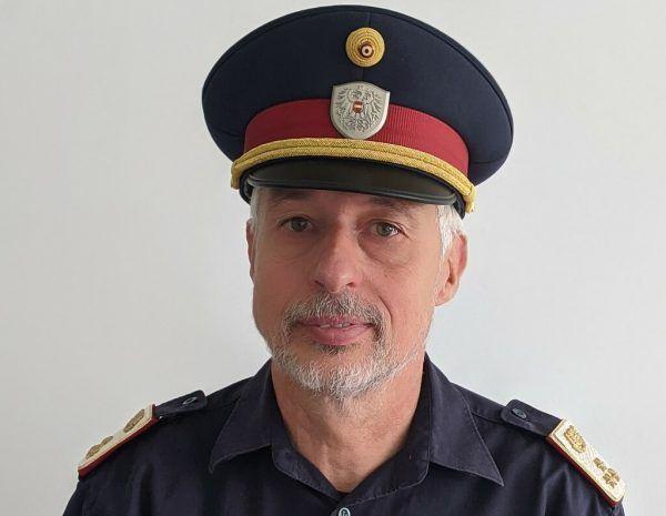 Chefinspektor Herbert Steckel. Polizei