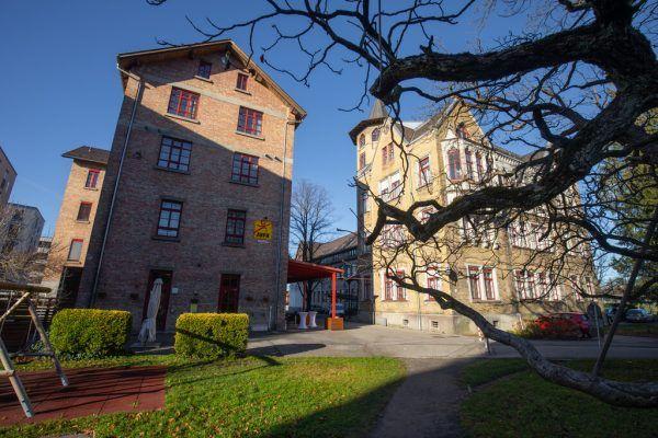 Das Jufa-Hotel in Bregenz erhält einen Zubau.Hartinger