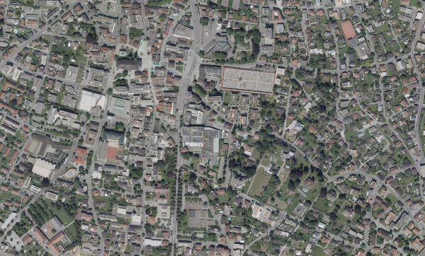 Das Mohren-Areal in Dornbirn umfasst rund 23.000 Quadratmeter.Vogis