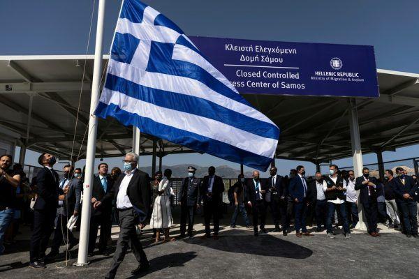 Das neue Flüchtlingslager wurde eröffnet. Reuters