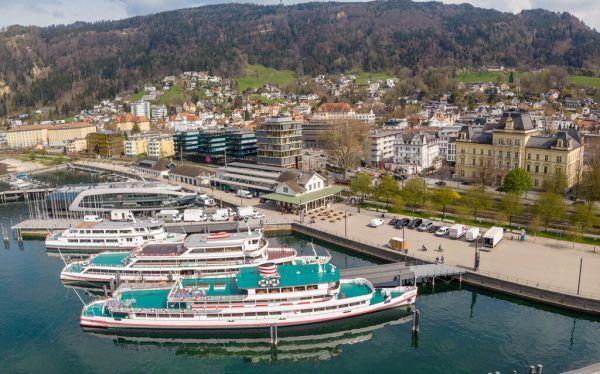 Der Hafen in Bregenz, einer der drei Veranstaltungsorte am ökumenischen Tag der Schöpfung 2021. Hartinger