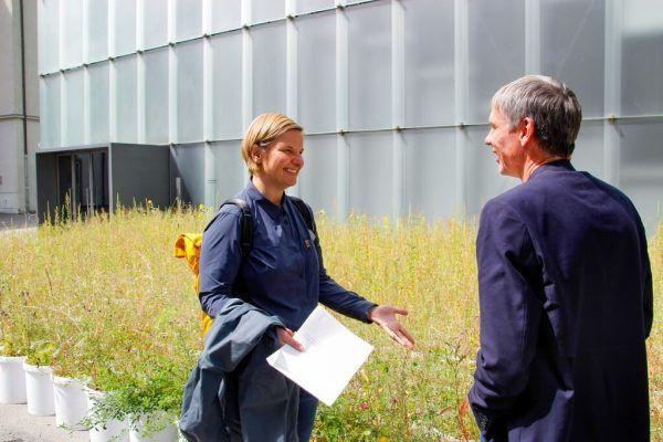 Der Museumsdirektor und die Biologin. Kunsthaus Bregenz