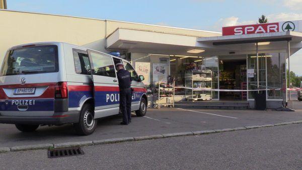 Der Tatverdächtige schlug unter anderem im Spar-Supermarkt in der Landstraße in Bregenz zu.Shourot