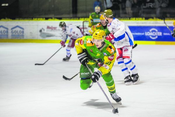 Die Lustenauer gastieren heute in Salzburg und wollen in der Mozartstadt wie gegen Gröden geradliniges Eishockey spielen. Frederic SAMS