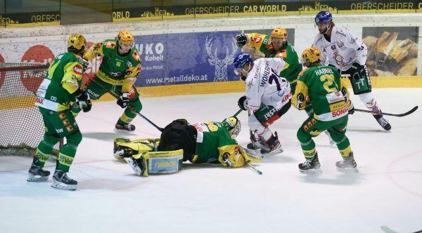 Die Lustenauer verloren erstmals in dieser Spielzeit in der heimischen Arena. hartinger