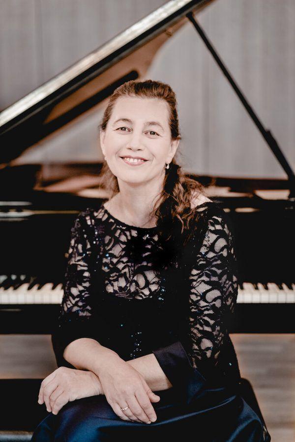 Die russische Pianistin Lilya Zilberstein: eine überaus würdige Einspringerin.Andrej Grilc