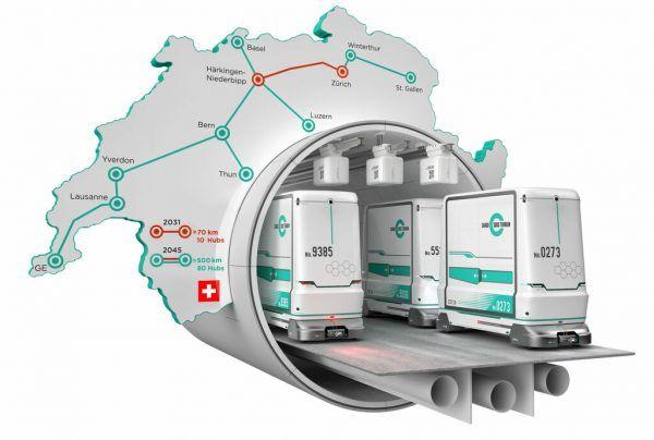 Die U-Bahn soll den Schweizer Zentralraum verbinden.CST (3)