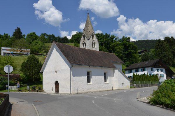 Die wohl älteste Kirche des Landes steht in der Gemeinde Bludesch. Friedrich. Böhringer/WIKIPEDIA