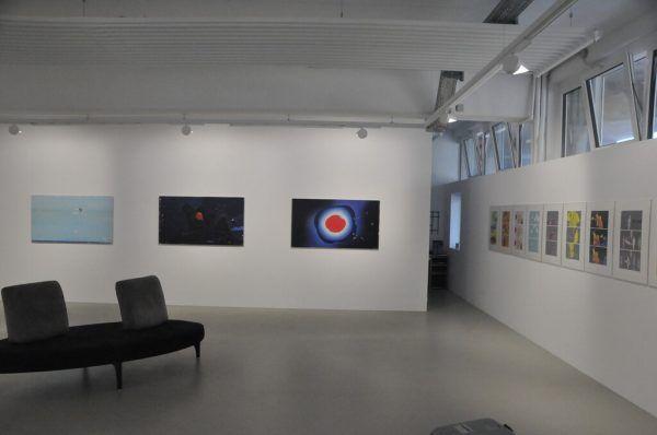 Ein Blick in die Ausstellung. Wolfgang Ölz