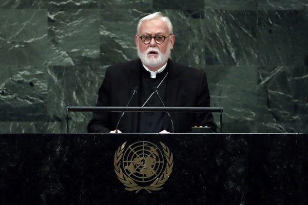 Erzbischof Paul Richard Gallagher. AP