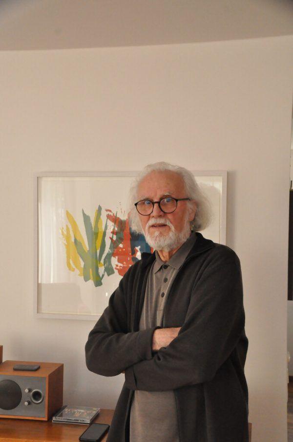 Feierte heuer seinen 80. Geburtstag: der Künstler Hugo Ender.Wolfgang Ölz.