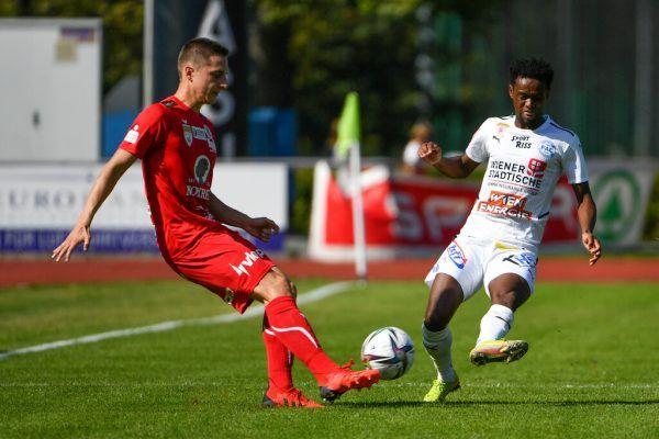 Für den FC Dornbirn gab es gegen den FAC bereits die fünfte Niederlage. Nun wartet mit Liefering die nächste Hürde.GEPA/Lerch