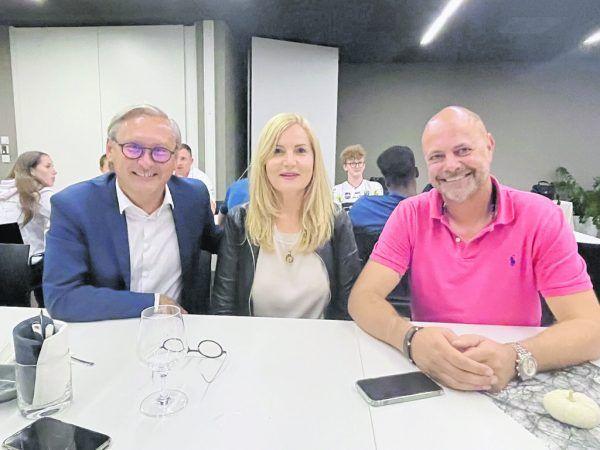 Gerhard Hamel, Astrid Bischof, Michael Zimmermann.