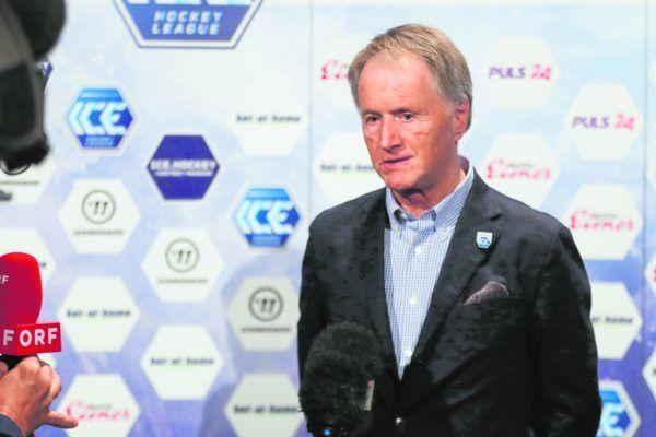 ICE-Liga-Boss Jochen Pildner-Steinburg. GEPA