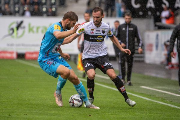 In dieser Saison traf Emanuel Schreiner noch nicht. Gegen die SV Ried bewies der 32-Jährige aber schon öfter seine Torjägerqualitäten.GEPA/Lerch