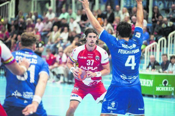 Ivan Horvath zeigte im Hinspiel eine Glanzleistung, erzielte neun Tore gegen die Franzosen. Sams
