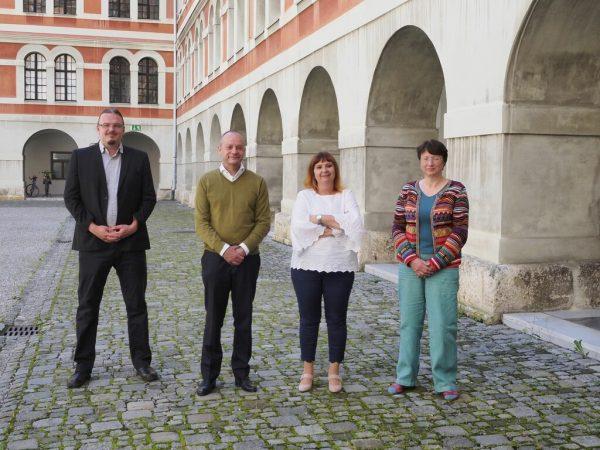 KPÖ-Klubkollegen Werner Murgg und Claudia Klimt-WeithalerAPA