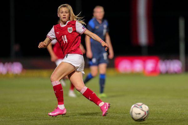 Marie-Therese Höbinger traf in den jüngsten vier Spielen drei Mal. gepa