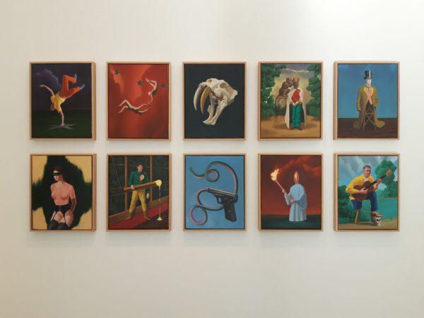 Mihael Milunovic und seine Werke in der Galerie Sechzig.Lisa Kammann (3)