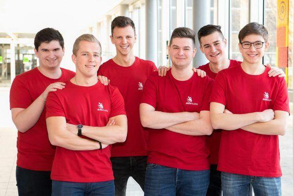 Mitglieder des Teams Vorarlberg bei der EuroSkills in Graz.WKV/Laresser