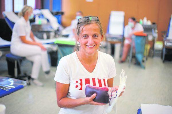 Seit 20 Jahren ist Sigrid Hofner neben ihrem Beruf als Krankenschwester auch für das Rote Kreuz tätig. Klaus Hartinger (2)