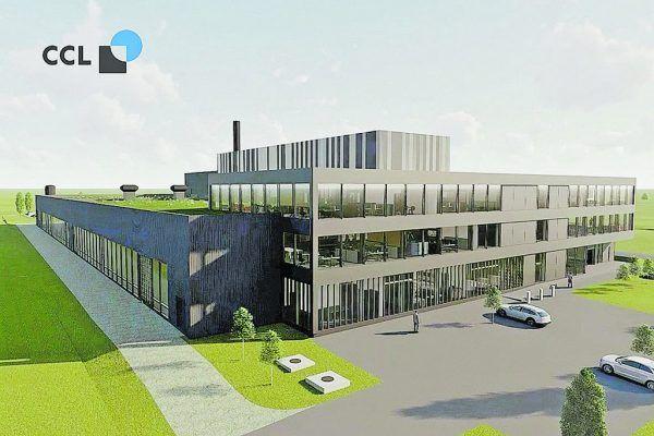 So soll der neue CCL-Label-Standort in Dornbirn-Pfeller aussehen. Handout/WPA