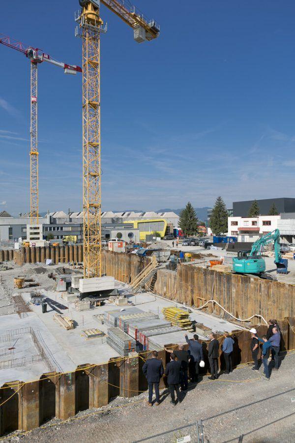 Über 20 Millionen Euro werden in die Erweiterung investiert.VLK