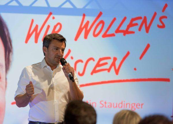 2018 wurde Martin Staudinger zum Parteichef gewählt. Stiplovsek