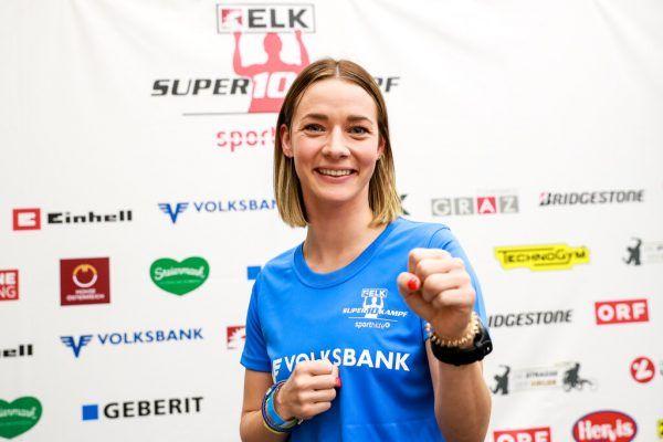 Bettina Plank erreicht in Moskau das Finale.gepa